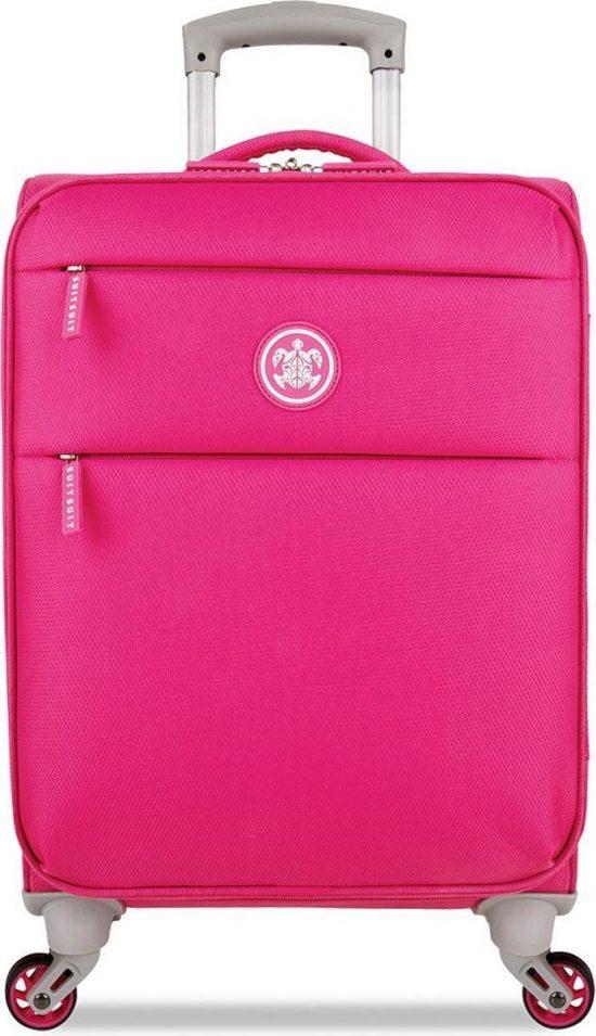 SUITSUIT Caretta Soft Handbagage koffer 53 cm - Hot Pink