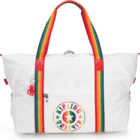 Kipling Art M Reistas - Rainbow White