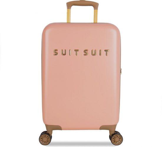 SUITSUIT Fab Seventies Handbagage koffer 55 cm - Coral Cloud