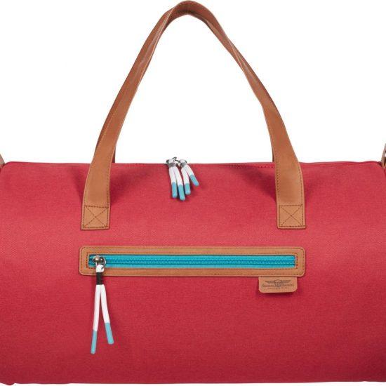 American Tourister Reistas Zonder Wielen - Fun Limit Duffle 45/18 Lifestyle Cardinal Red