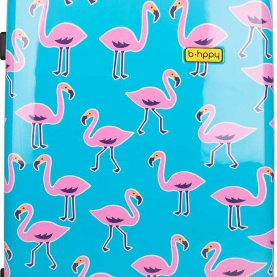 BHPPY Reiskoffer 77 cm - Go Flamingo