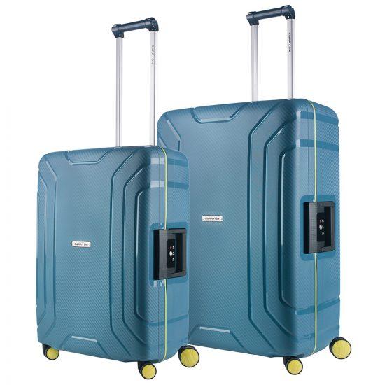 CarryOn Steward Kofferset 2-delig M+L Ice Blue