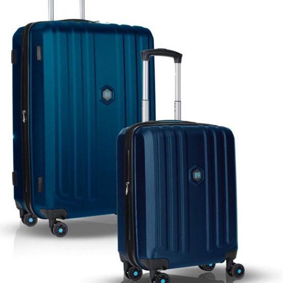 """Enduro 1+1 Kofferset (28""""/20"""") - Donkerblauw"""