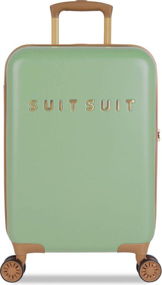 SUITSUIT Fab Seventies Handbagage koffer 55 cm - Basil Green
