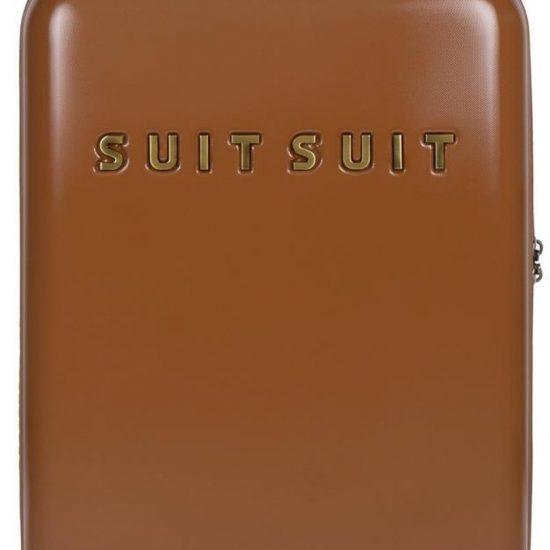 SUITSUIT Fab Seventies Handbagage koffer 55 cm - Leather Brown