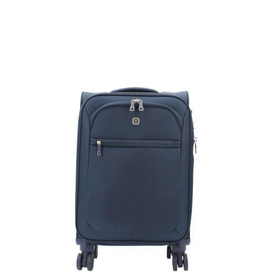 Enrico Benetti koffer Spinner 4-wiel 55cm blauw
