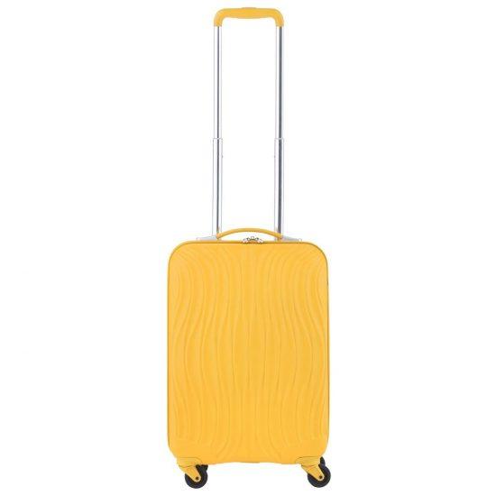 CarryOn Wave Handbagagekoffer - 55cm Handbagage met USB aansluiting - 5 jaar garantie - Oker