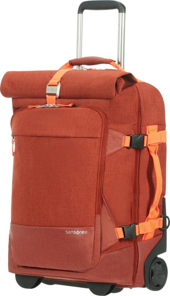 Samsonite Crossbodytas Met Tabletvak - Ziproll Duffle/Wheel 55/20 Backpack (Handbagage) Burnt Orange