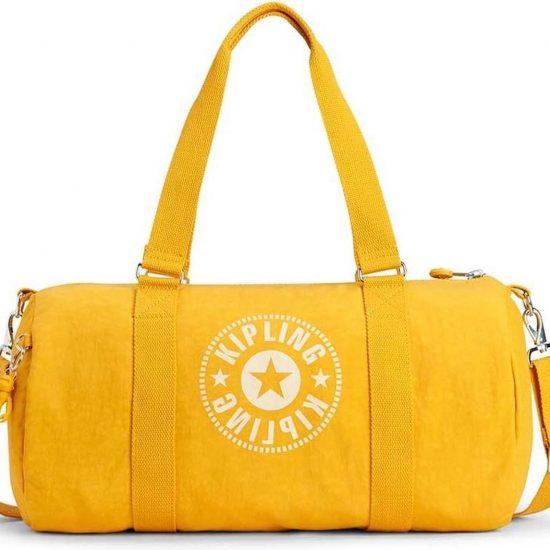 Kipling Onalo Sporttas - Lively Yellow