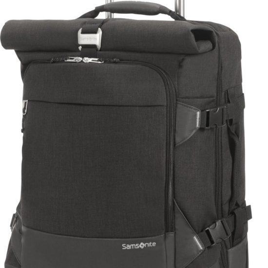 Samsonite Crossbodytas Met Tabletvak - Ziproll Spinner Duffle 55/20 (Handbagage) Black