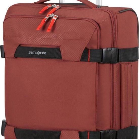 Samsonite Reistas Met Wielen - Sonora Duffle/Wheels 55/20 (Handbagage) Barn Red